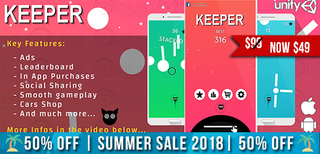 Keeper - iOS/Android
