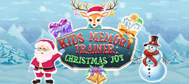 Kids Memory Trainer: Christmas Joy