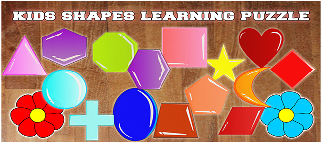 Kids Shapes Learning Puzzle