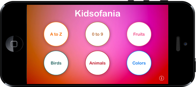 Kidsofania - Fun app for kids
