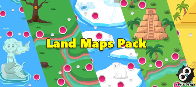 Land Maps Pack