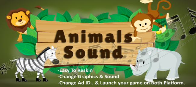 Learn To Speak Animal Names - Android & iOS