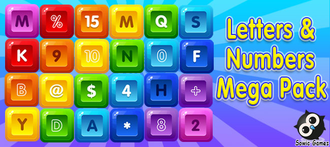 Letters and Numbers Mega Pack