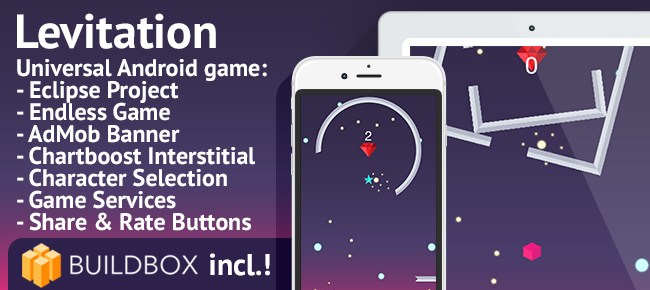 Levitation - Android Easy Reskin Game Template