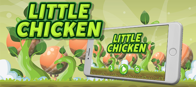 Little Chicken Android iOS Buildbox with Custom Ad