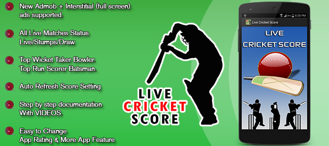 Live Cricket Score Android