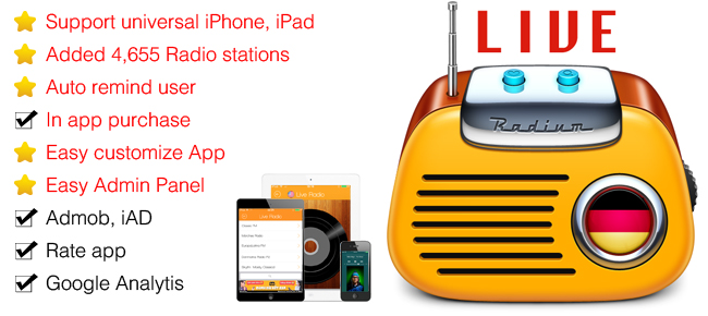 Live Radio - All in One