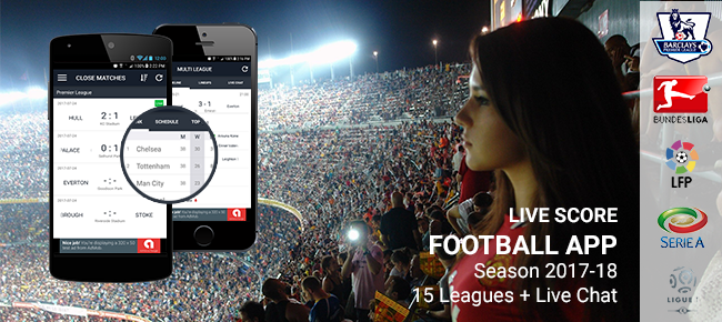 Live score football app template (Android)