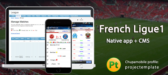 Live-Score French Ligue1 iOS