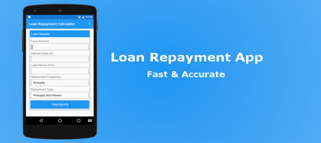 Loan Repayment App with Chart