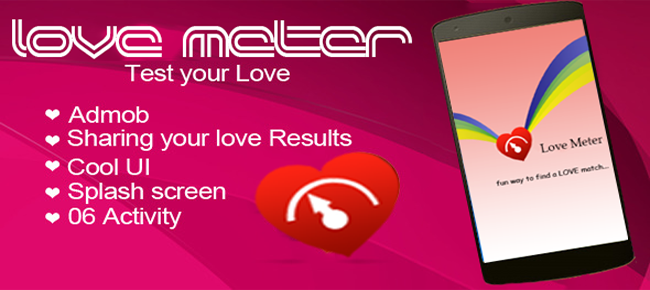 Love Meter with AdMob
