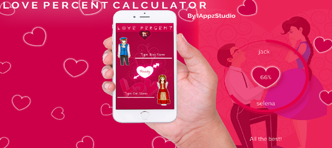 Love Percent Calculator