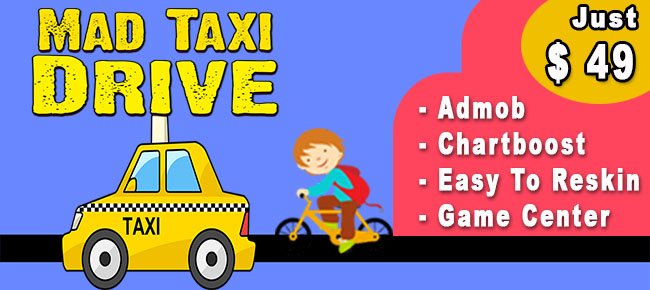 Mad Taxi Drive