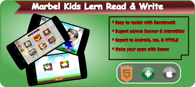 Marbel Kids Lerning Read & Write
