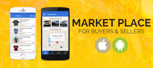 Market Place Android App For Sellers and Buyers