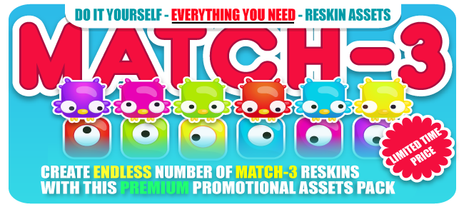 Match-3 Game Assets Creator-Made Easy