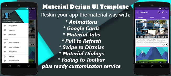 buy material design ui app utilities and widgets for android