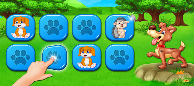 Memory Match Puzzle Game for Kids