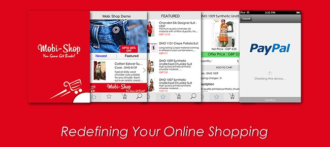 Mobi Shop Complete shopping cart with admin panel