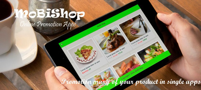 MoBiShop - Online Promotion Apps - Android