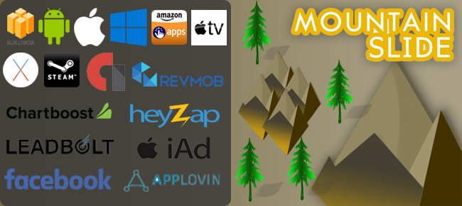 Mountain Slide BuildBox 2 Game–iOS / Android/BBD