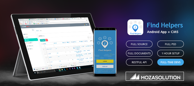 Moza Finder Helper Android App Full Source Code