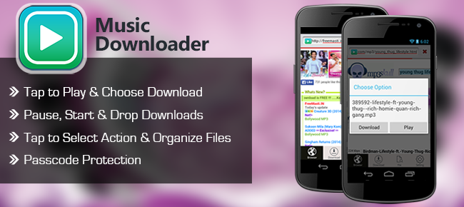 Music and MP3 Downloader & Manager