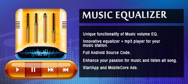 Music Equalizer: MP3 Player