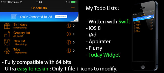 My Todo Lists