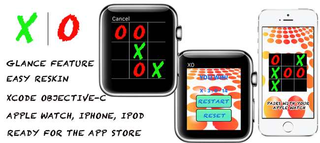 Naughts & Crosses For Apple Watch