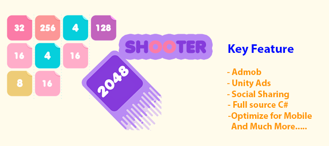 New 2048 Hot - 2048 Shoot and Merge
