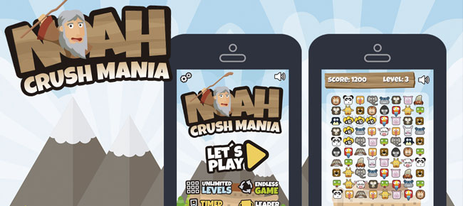 Noah´s Ark Match 3 Style Game Assets -