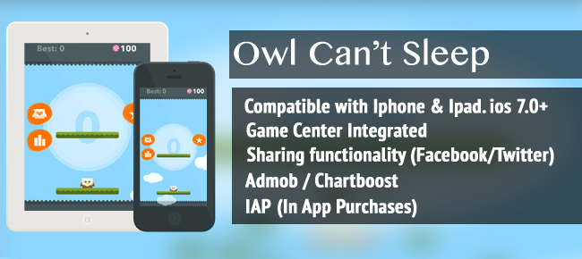 Owl Can't Sleep - IOS