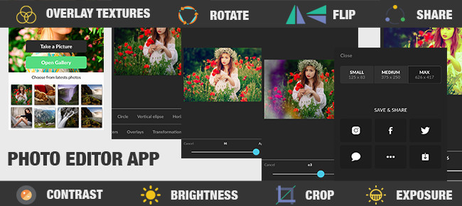 Photo Editor FX Pro With Effects iOS App Template