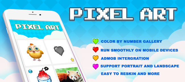 Pixel Art - Color by Number (Top Free Game)