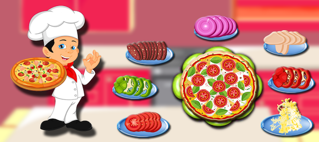 Pizza Maker Kitchen Fever Cooking game
