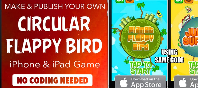 how to make your own flappy bird game