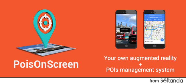 POIs On Screen + web POIs management system