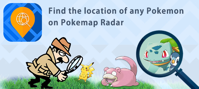 Pokemap Radar For Pokemon GO