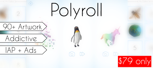 Polyroll – Creative 3D Artworks
