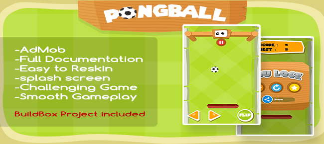 PongBall (buildbox project included)