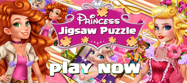 Princess Jigsaw Puzzle Kids Games