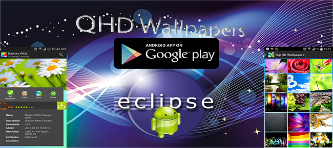 QHD Wallpapers With server side