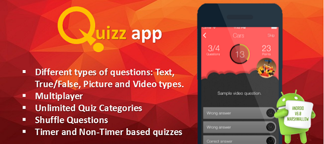 Quiz App Starter kit - All In One for Android