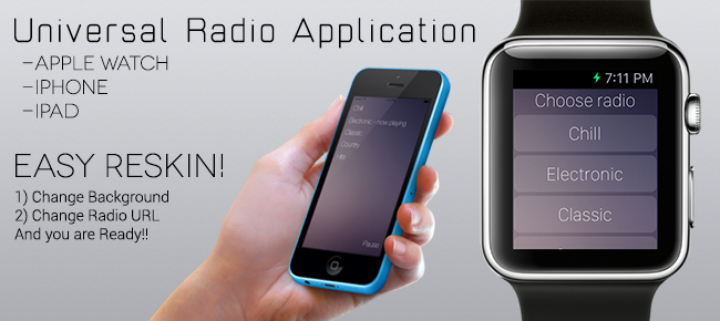Radio Application (Universal App)