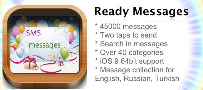 Ready Messages - 45000 Ready-Made Text