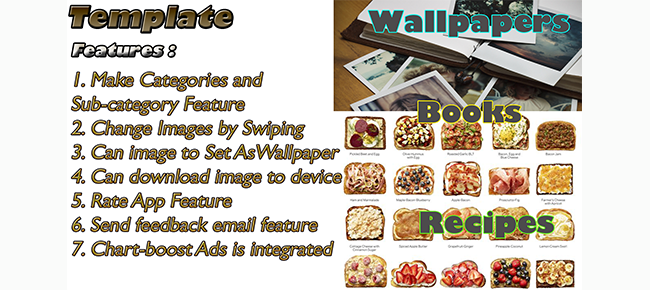 Recipes, Wallpapers Tamplate