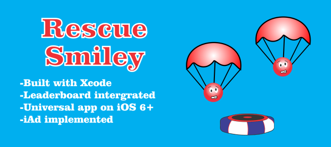 Rescue Smiley Catching Game for iOS