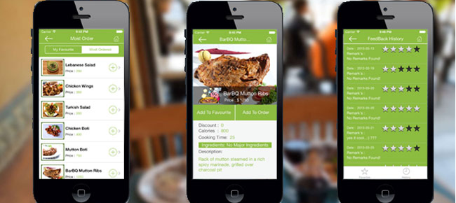 Buy Restaurant Table Order App FoodDrink And Business For IOS - Restaurant table app