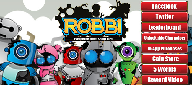 ROBBI - AWESOME ANDROID JUMP GAME TEMPLATE